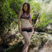 Amulet bikinis by Izzy Ivy, Goddess inspired, embellished with sacred geometry and Crystals, petite to plus size. Adorn your Temple